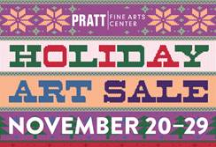 Pratt Holiday Art Sale